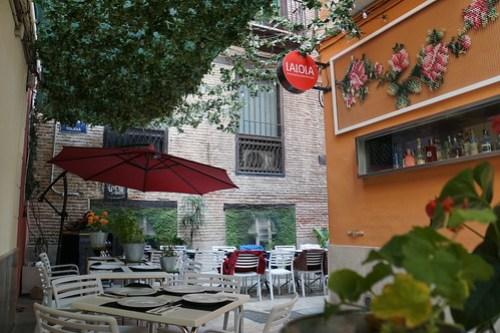 Lalola terrace | gluten free restaurant in Valencia | gluten free Valencia guide | gluten free Spain