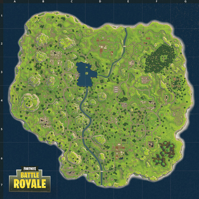 Fortnite Battle Royale Map Quiz By ConorRM