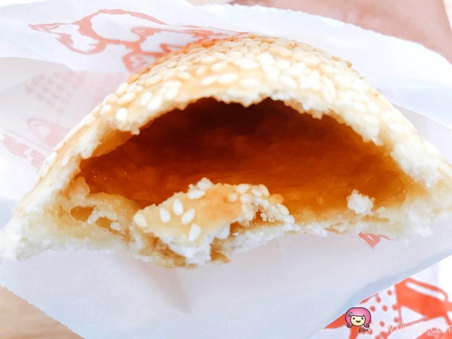 徐家燒餅,桃園早餐,桃園美食,焦糖甜餅,燒餅夾蛋,陽明公園 @VIVIYU小世界