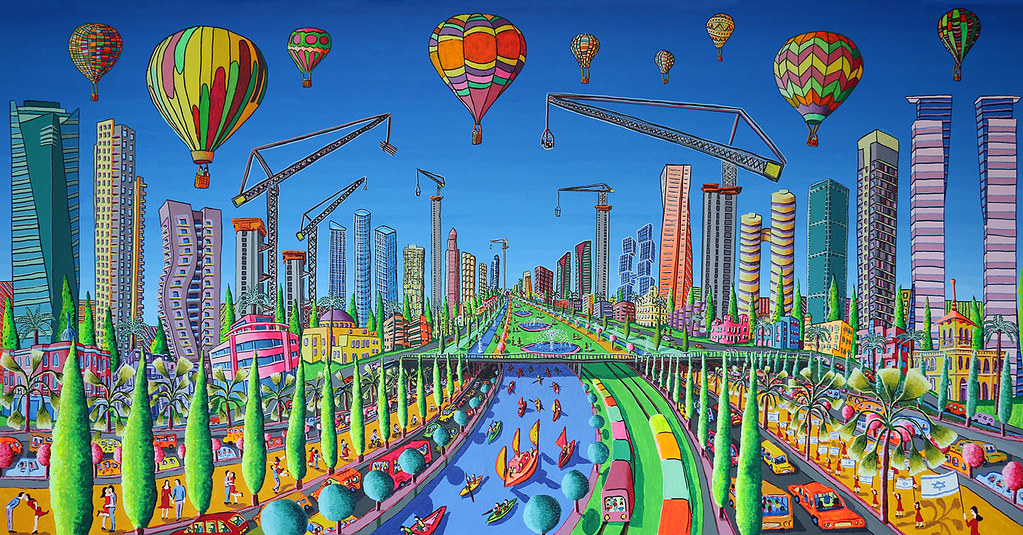 naive art paintings Painting Modern People Sculpture Desig  Flickr