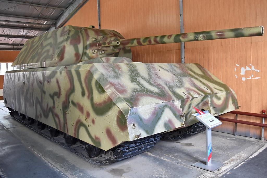 Panzer VIII Maus  German WW2 Super Heavy Tank Official de  Flickr
