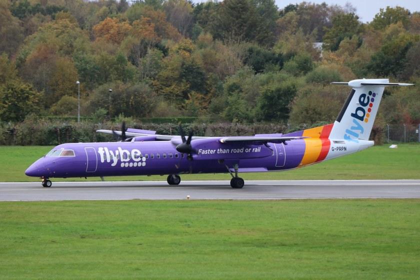 Bildresultat för flybe dash 8 q400