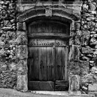 Ancient Door | An old door in the old part of a little ...
