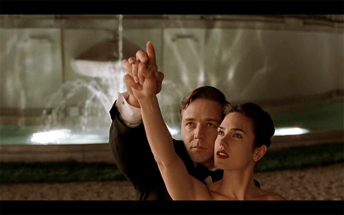Fotograma de la película Una Mente Maravillosa (A Beautiful Mind)