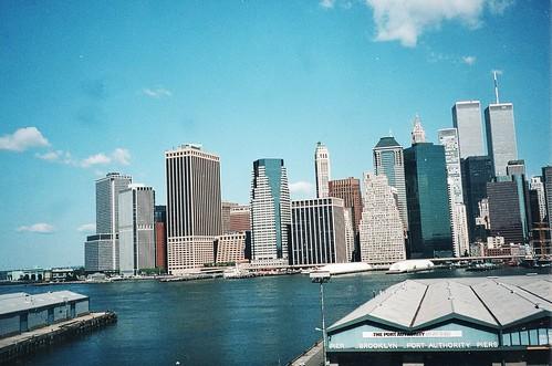 New York City Lower Manhattan World Trade Centre Befor
