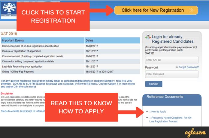 XAT Application Form 2018
