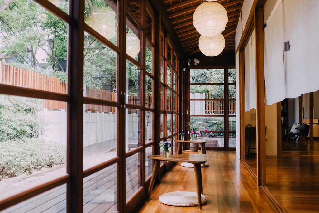 La biblioteca VVG Chapter está ubicada en una antigua casa japonesa