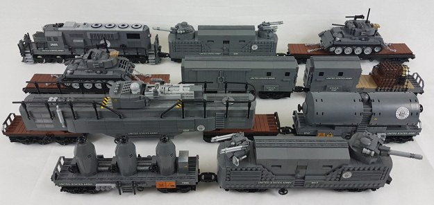Riding The Rails With A Lego Wwii Army Supply Train The Brothers