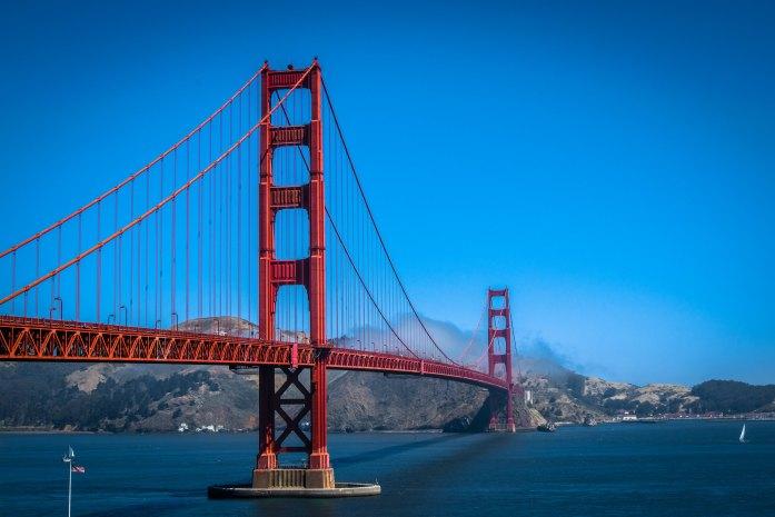Puente Golden Gate en la bahía de San Francisco