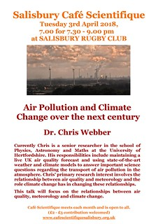 Poster for Dr Chris Webber