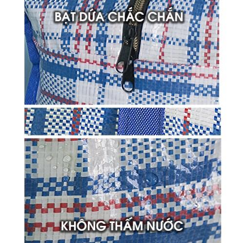 Túi bạt không thấm nước dây kéo đựng quần áo chăn màn