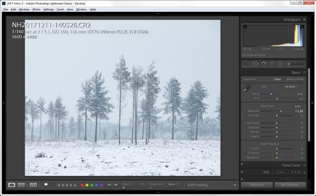 sneeuwfoto's nabewerken door nando harmsen