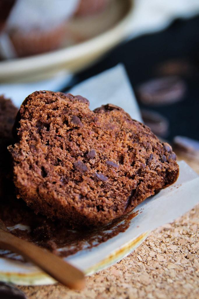 Recette de Muffins tout chocolat