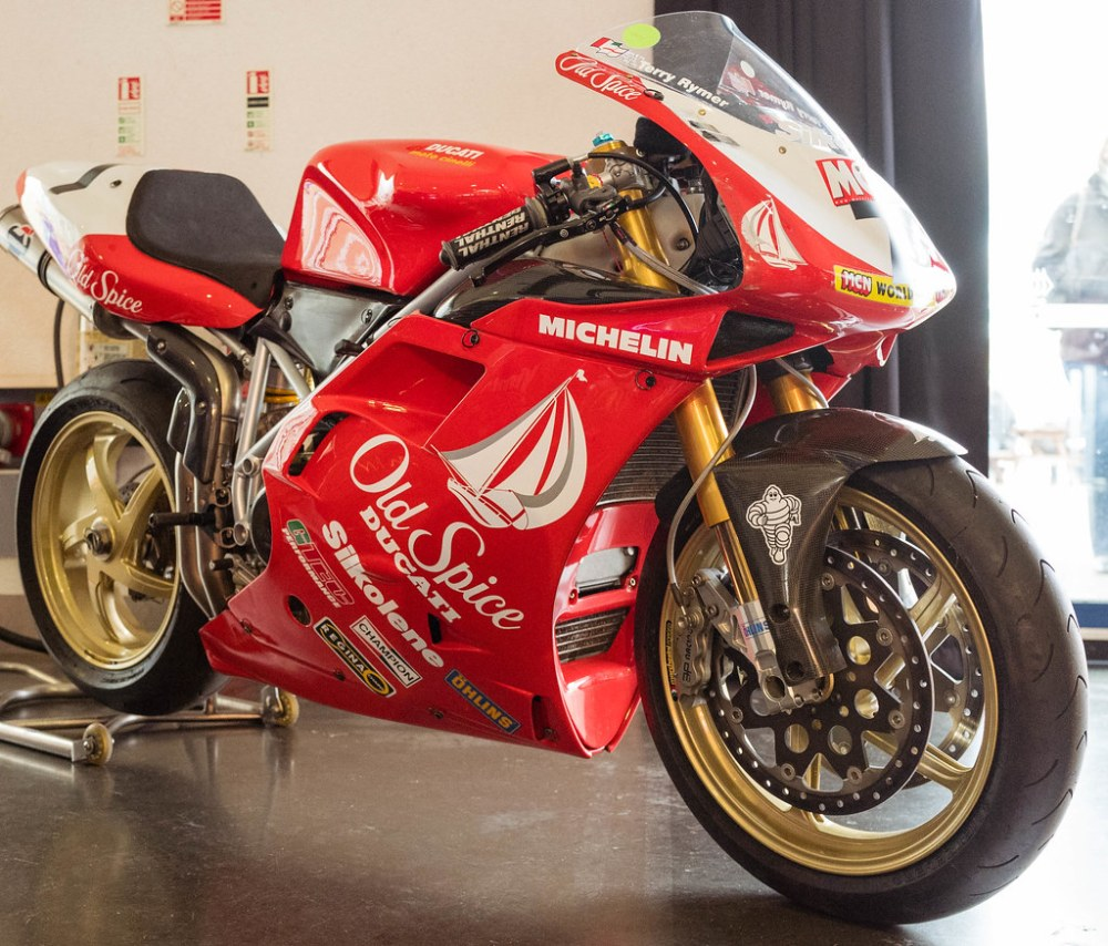 medium resolution of  1996 old spice ducati 916 by mike turner