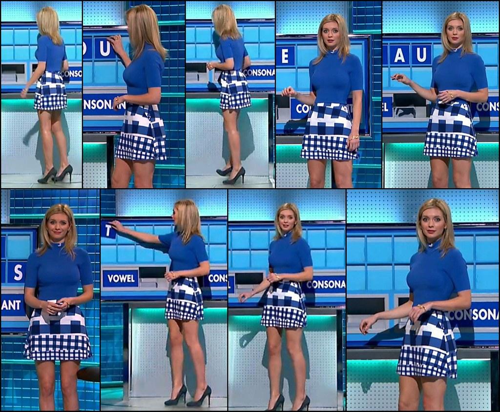 Rachel Riley Legs Short Skirt Countdown Woman Shrinker