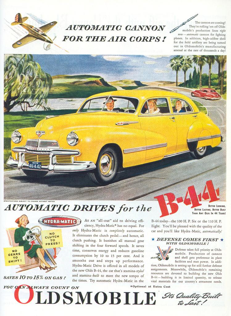 1941 Oldsmobile B-44