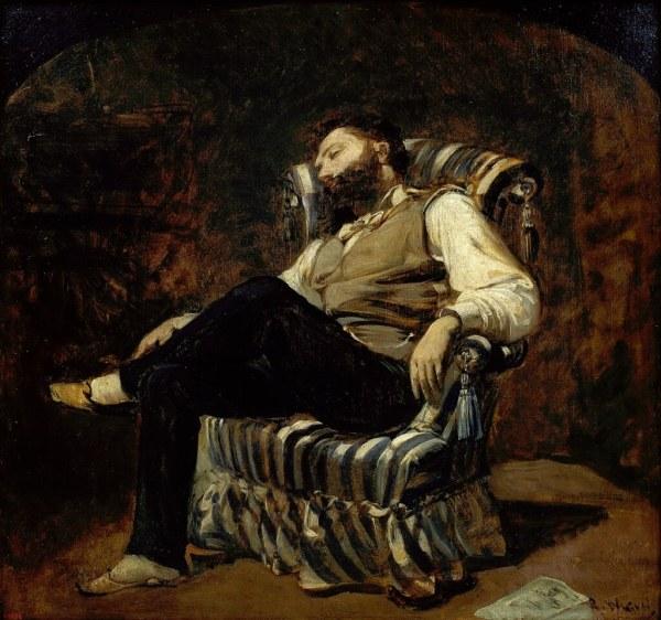 Ramon Mart Alsina - Siesta .1884 Museu Nacional