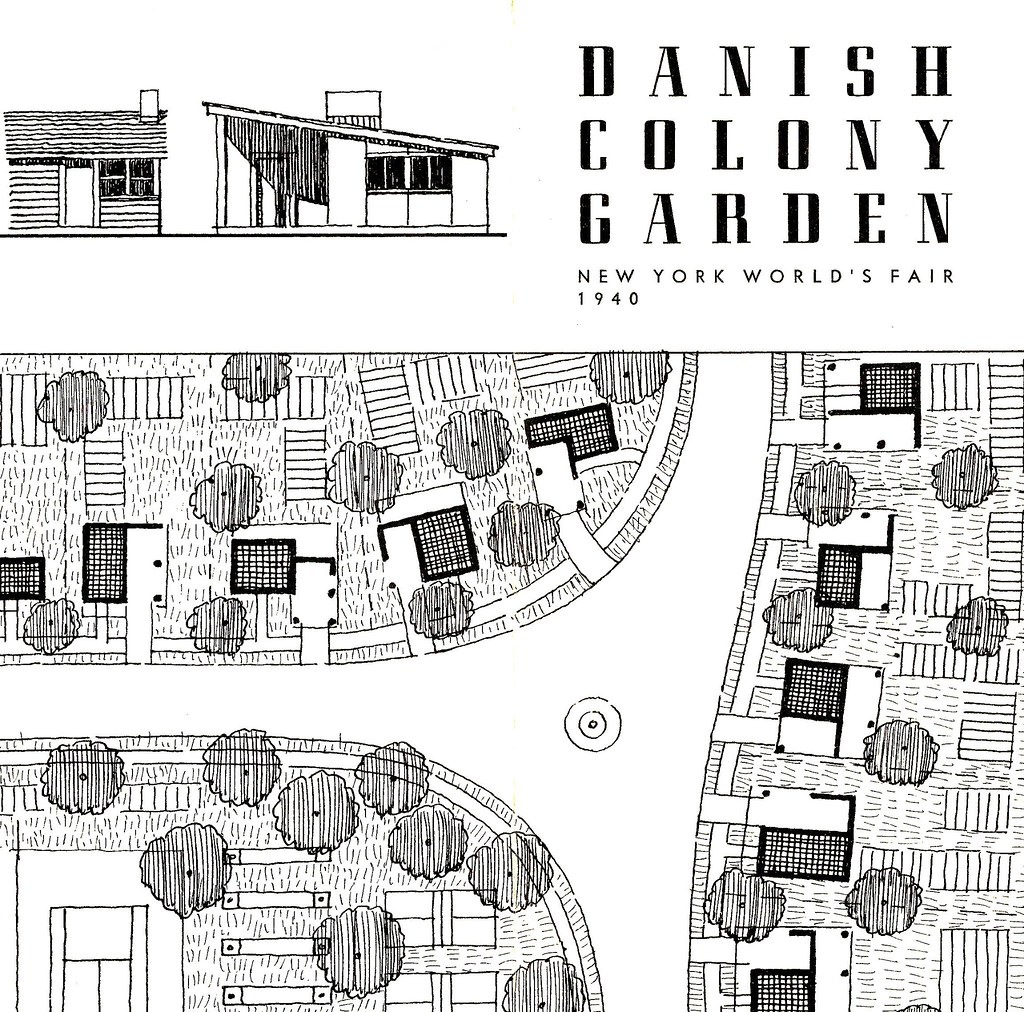 Danish Colony Garden Brochure From The 1940 New York World