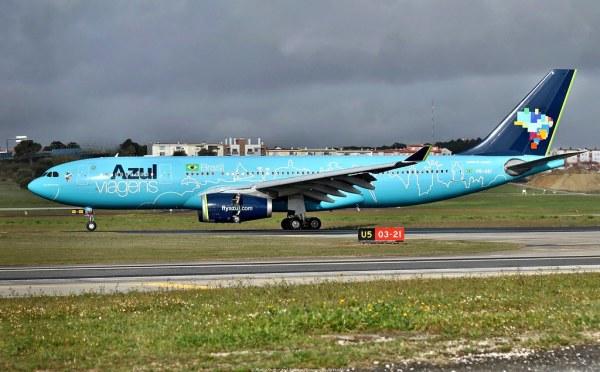 Azul Linhas Aereas Airbus A330200 PRAIU quotAzul viagens