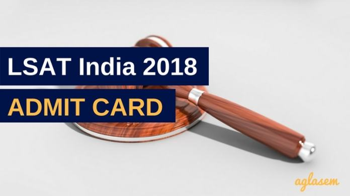 LSAT India 2018 Admit Card / Hall Ticket download at pearsonvueindia.com - To be released on 5 May  %Post Title | AglaSem