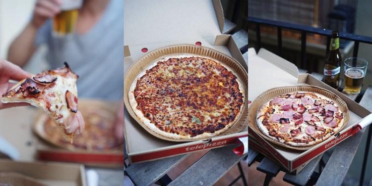 Gluten free pizza from Telepizza | gluten free Valencia guide | gluten free Spain | Gluten free Travel