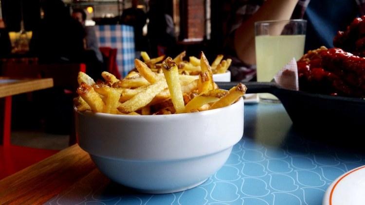 Bird | Gluten free fries | Shoreditch