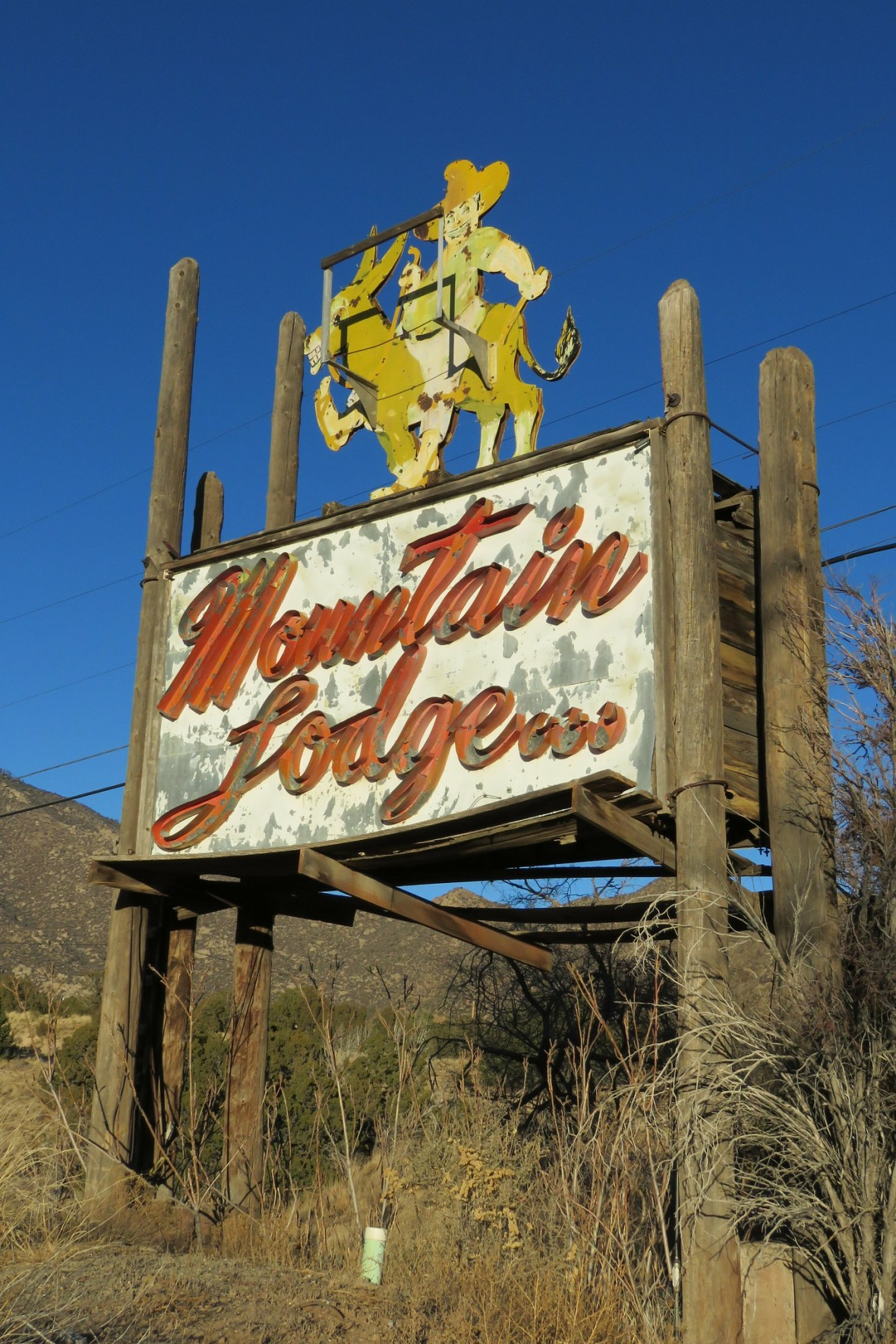 Mountain Lodge - Carnuel, New Mexico U.S.A. - January 14, 2018