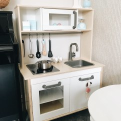 Wooden Toy Kitchen Base Cabinet Height Ikea Toddler Msjenallison Flickr By