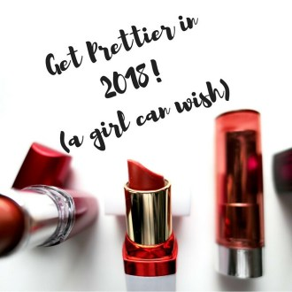 Get Prettier in 2018 : The Snarker's 2018 Beauty-Related Resolutions