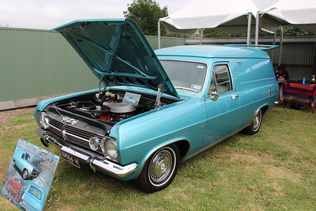 1966 Holden HR Panel Van  The HR Holden was built from