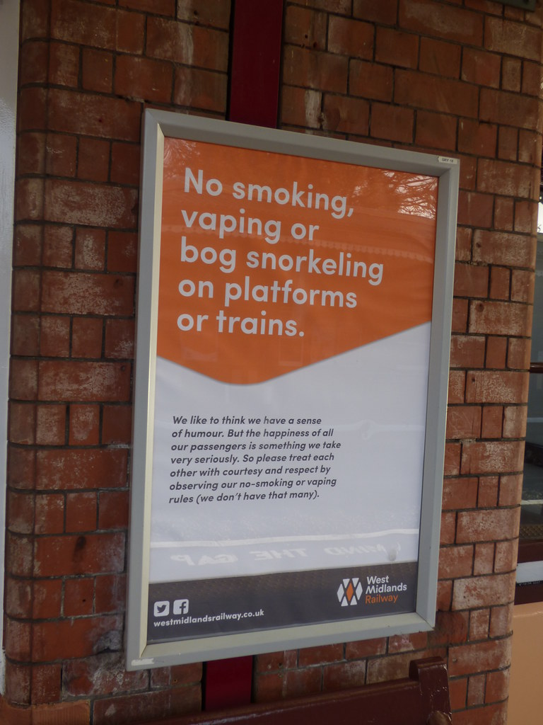Shirley Station  West Midlands Railway signs  No smoking  Flickr