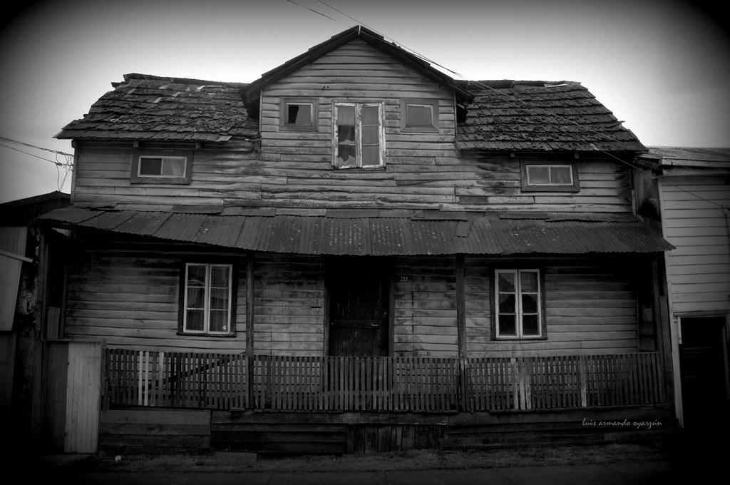 Casa abandonada  Foto Tomada en Barrio Rahue Osorno