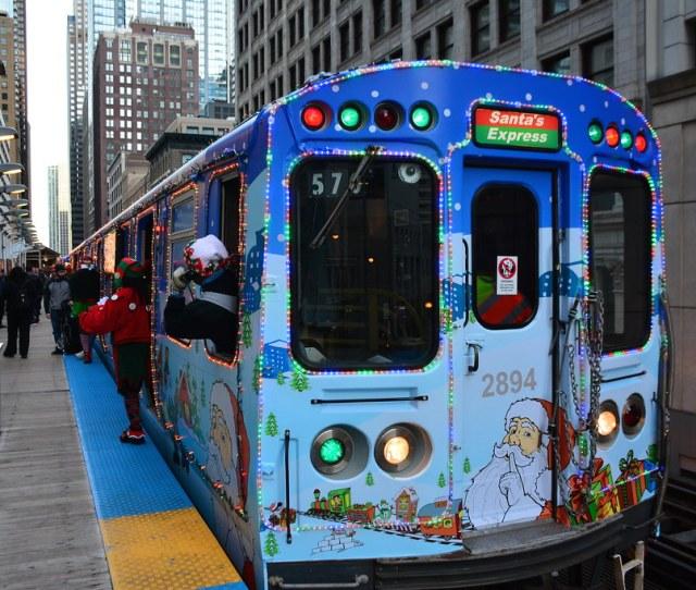 Jewel Osco Cta Holiday Train Bus By Cta Web