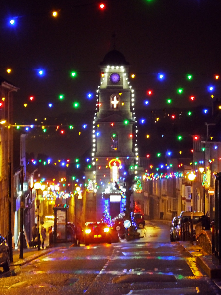 Penryn Lights 2 At Last I Managed To Get Up To The Town