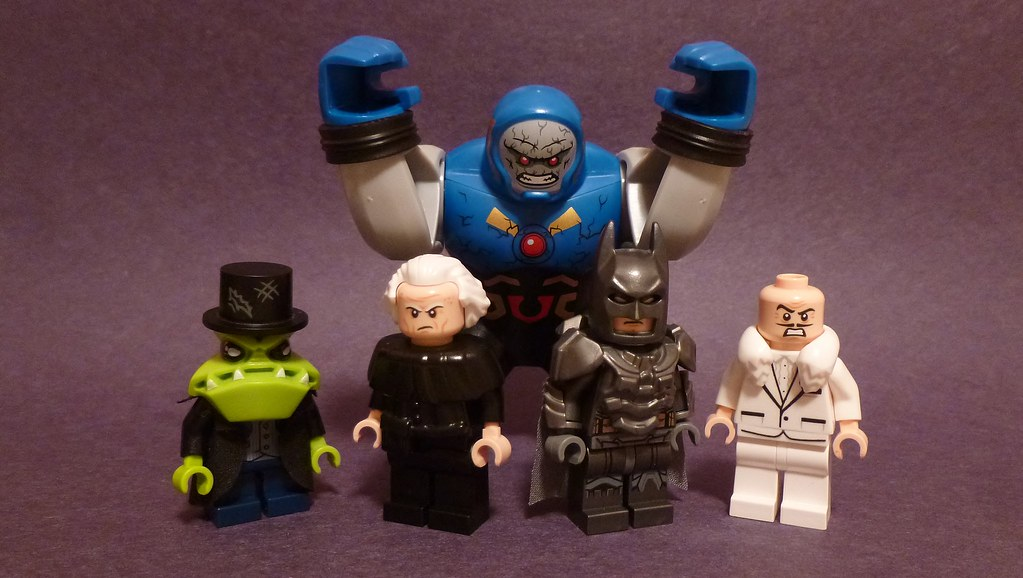 Lego DC Figures 103  From L to R Mr Toad Head idea