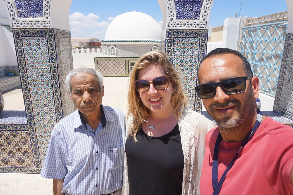 Kairouan Tunisia Tunis rug shop rooftop