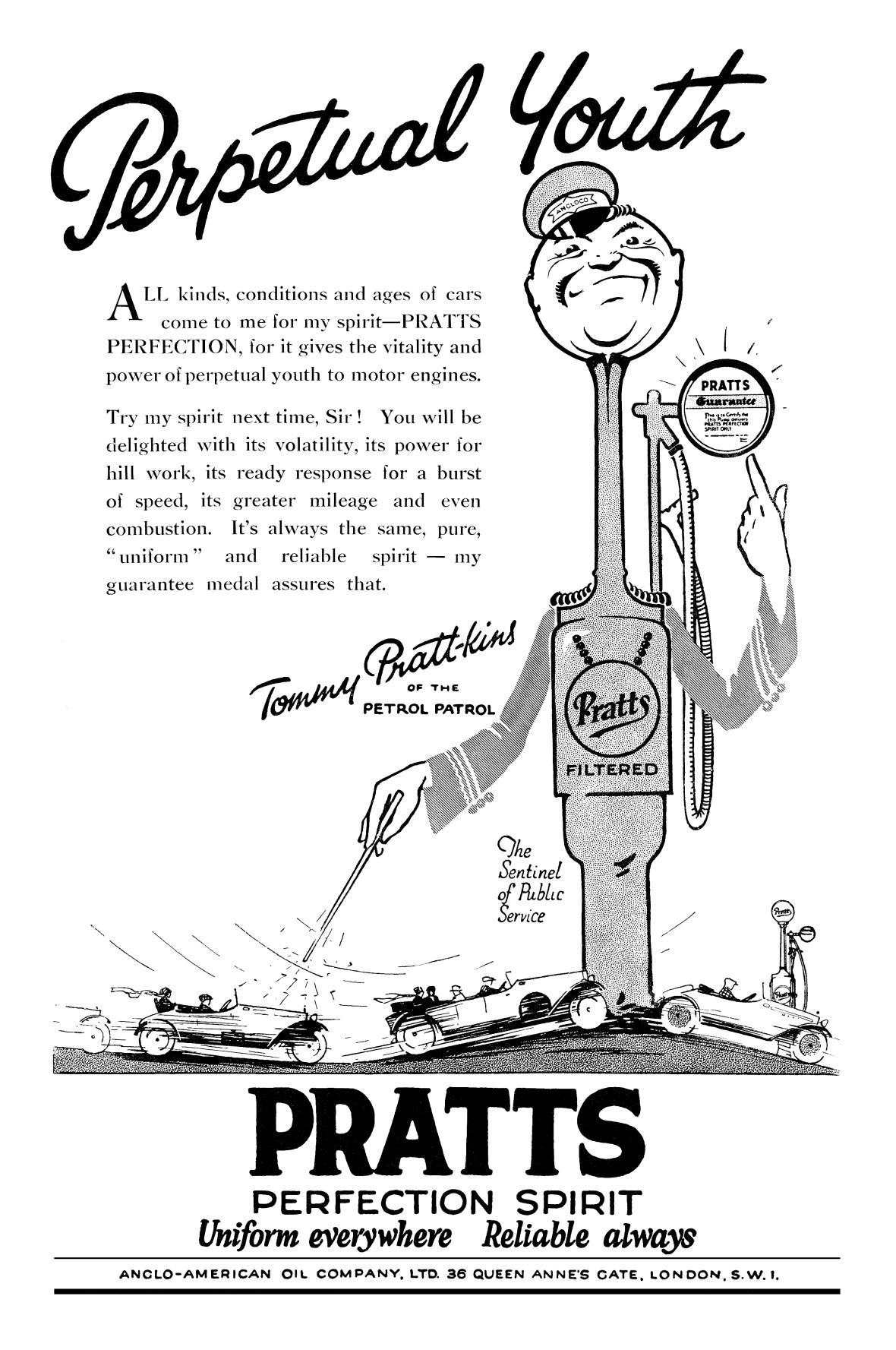 Pratt's - 1925