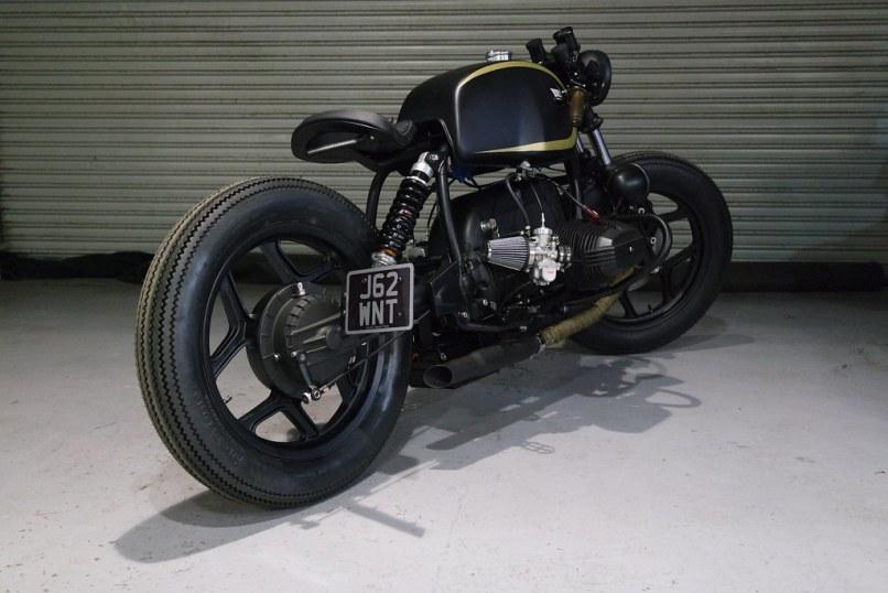 Black Max By Kevils Sd Bmw R80 Custom Cafe Bobber