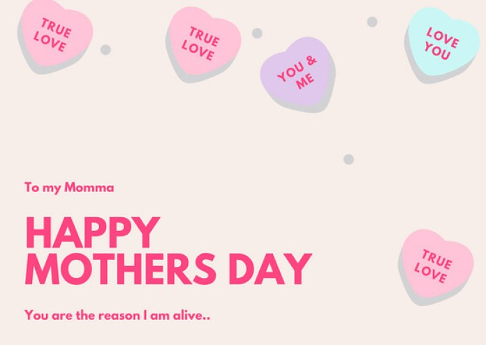 mothers day cards 2019