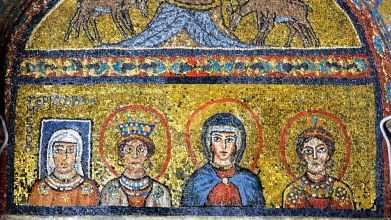 Image result for mosaic of Episcopa Theodora