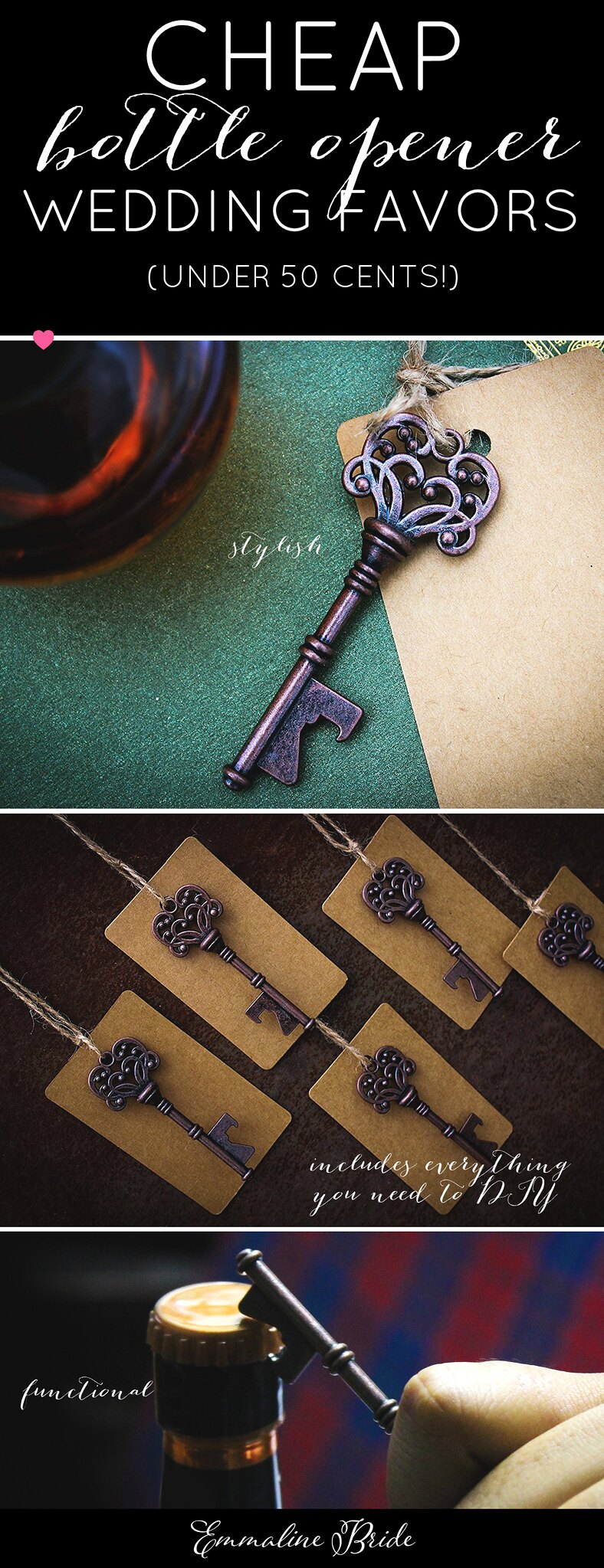 cheap wedding favors - bottle openers
