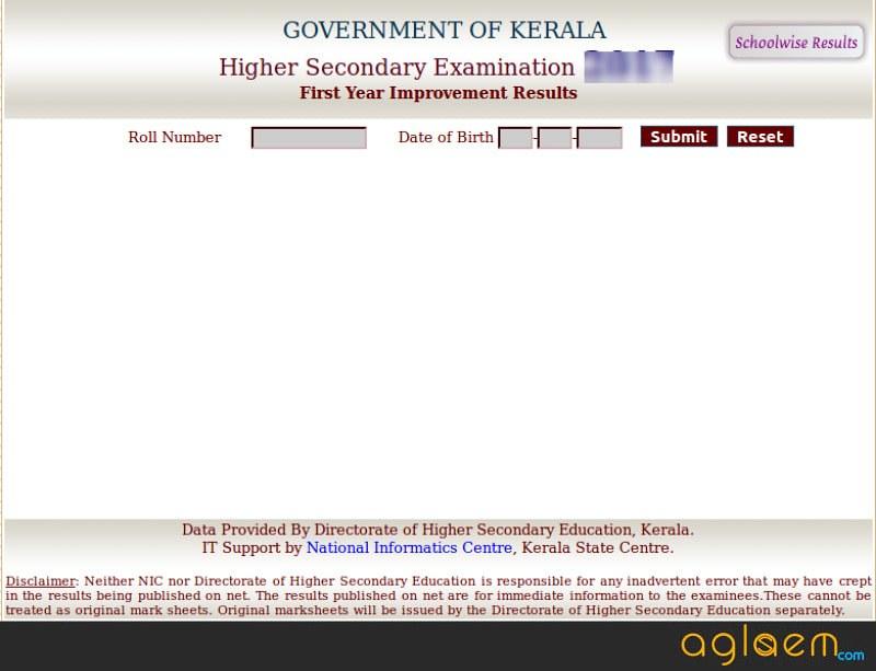 Kerala Plus On Result 2018