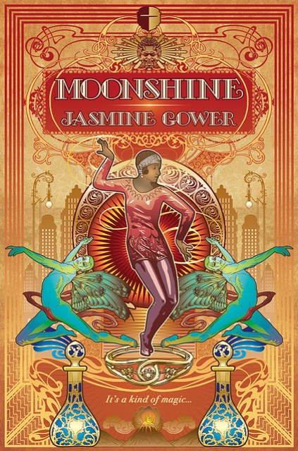 Image of the book Moonshine by Jasmine Gower.