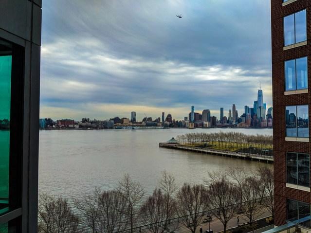 New York skyline from Hoboken