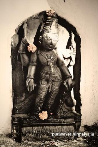 Shri Kartikeswara Parswadeva at Shri Ramchachadi Temple, Puri