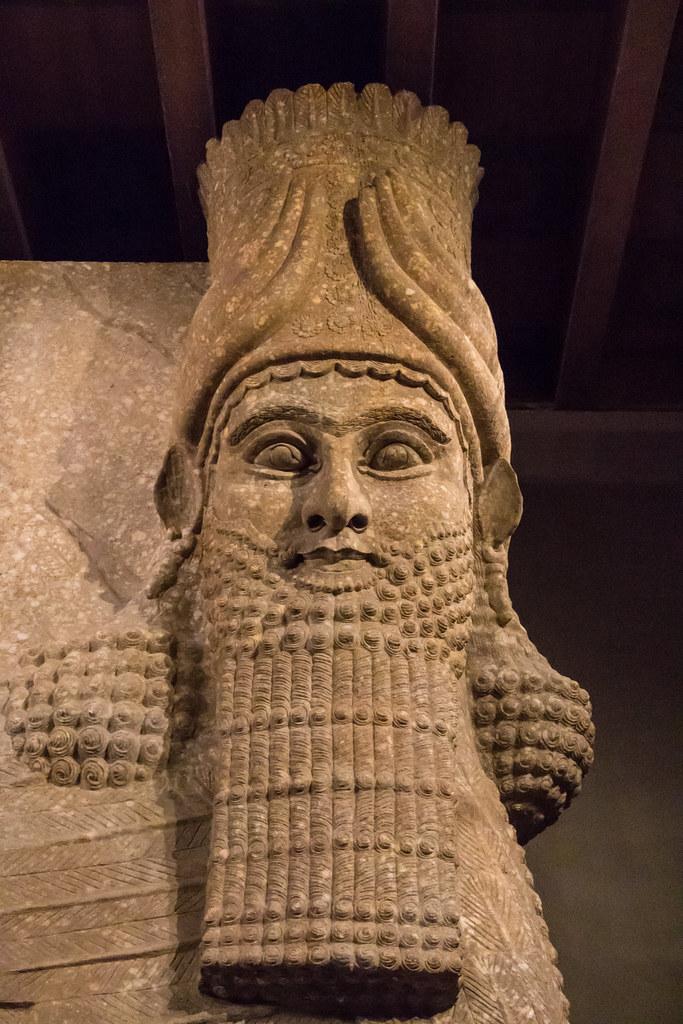 Sargon Ii King Of Assyria Oriental Institute Museum