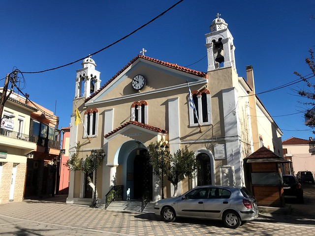 agia anna village church
