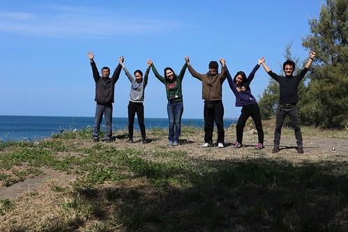 【帶著爺爺去旅行】2018花東過年三日遊:從看海開始(13.6ys)