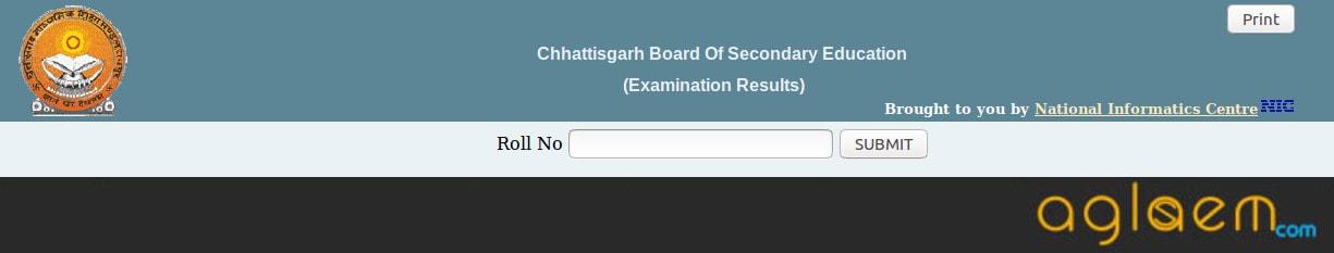 Cgbse.net 10th result 2018