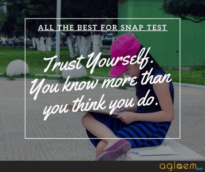 SNAP Syllabus 2018